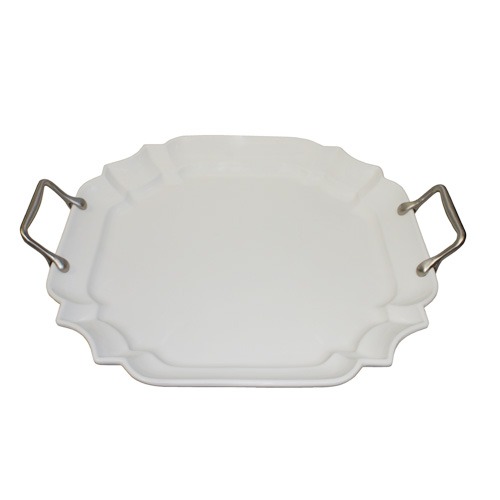 "Royal Classic 17"" Square Dent Platter"