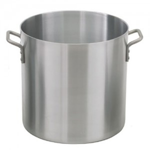 Johnson Rose Aluminum Stock Pot - 2.5 Gauge / 6MM