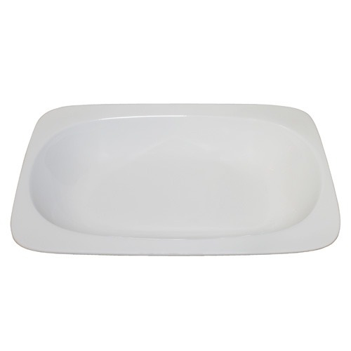 Royal Classic Round Corner Rectangle Deep Plate