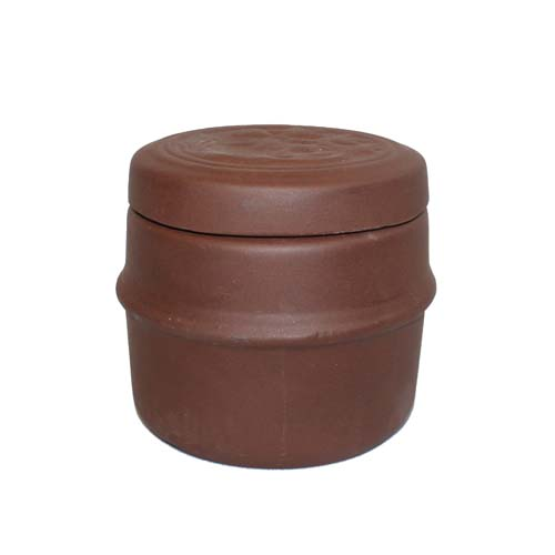 "4"" Clay Chinese Herbal Pot"