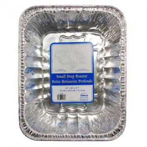 13x10x4IN. Aluminum Roast Pan