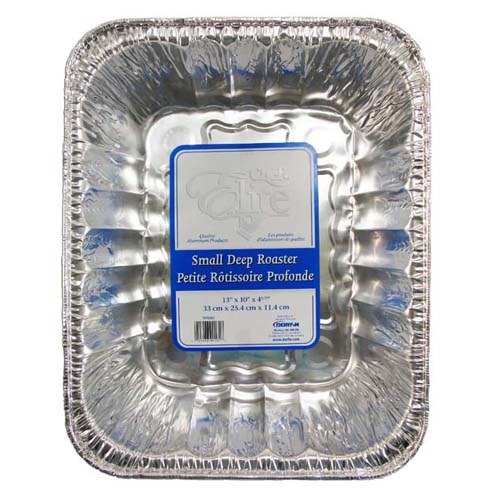 13x10x4IN. Aluminum Roast Pan
