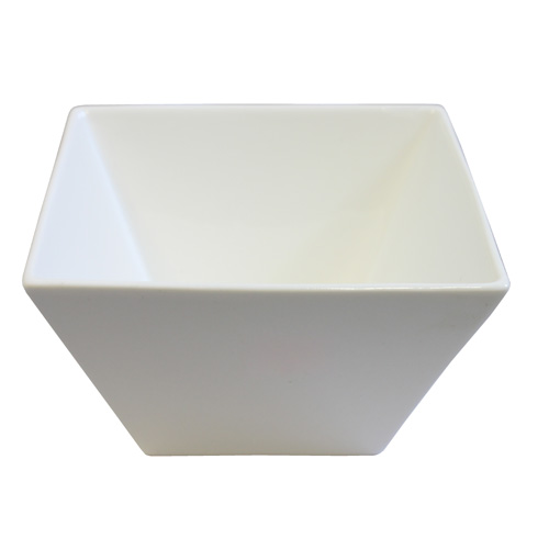 "Royal Classic 4.5x3"" Tall Tapered Square Bowl"