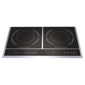 "23.5x14x2.5"" 1800W Dual Induction Cooking Range"