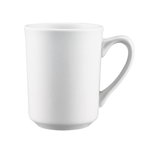 8.5 oz. White Coffee Mug