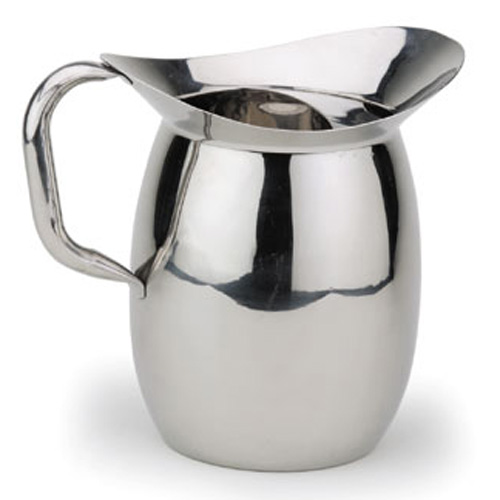 S/S Bell Pitcher with Ice Guard