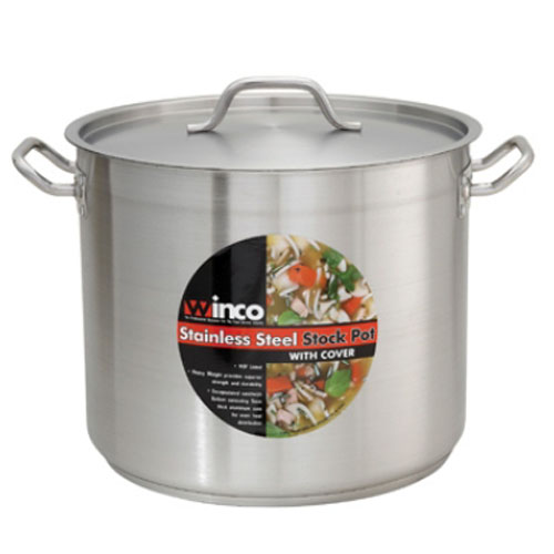 Winco S/S Stock Pot with Cover