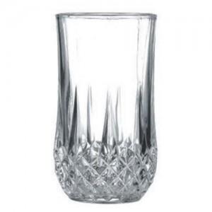 6-Pack 12 oz. Crystal Cut Glass Tumbler
