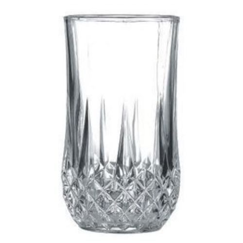 6-Pack 12 oz. Crystal Cut Glass Tumbler
