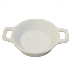 "2.75"" Round Ramekin with Double Handle"