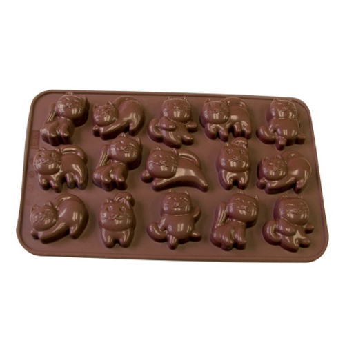 Cats Silicone Chocolate Mold