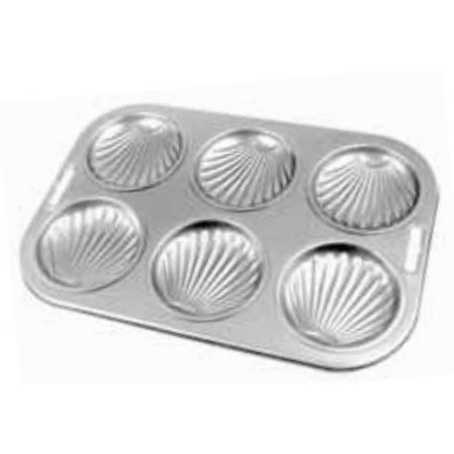 6-Cavity Shell Bun Pan