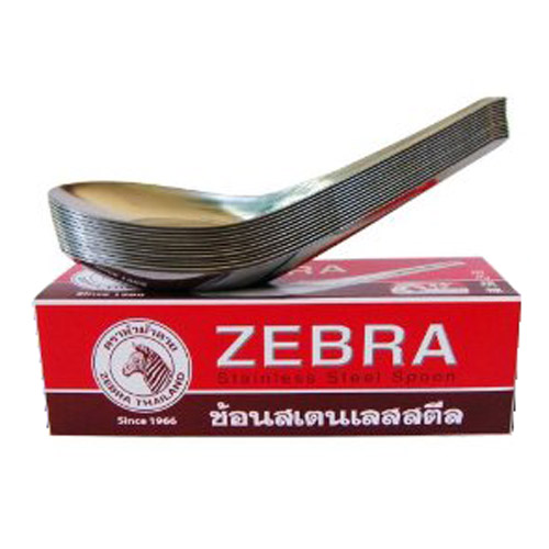 12-Pack S/S Chinese Soup Spoon