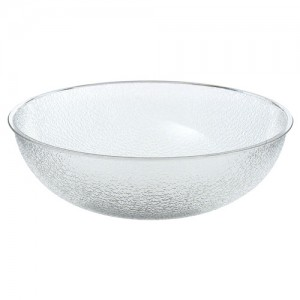Cambro Round Polycarbonate Pebbled Bowl