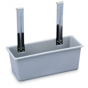 Grey Silverware Bin for Utility Cart