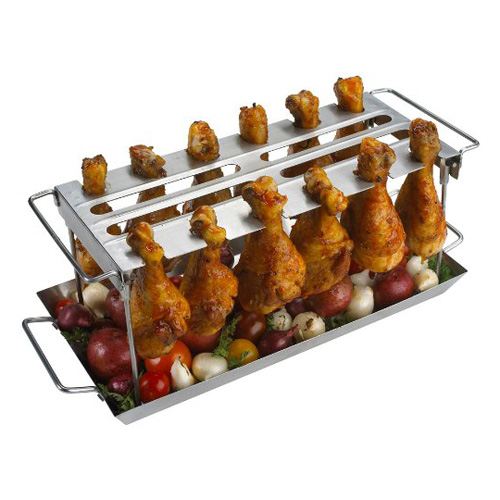 Grill Wing Rack