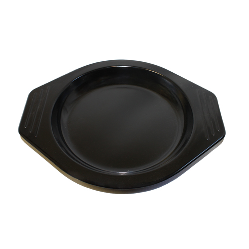 Korean Black Melamine Clay Pot Base