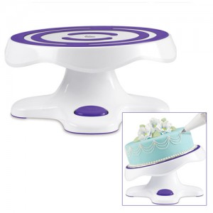 """12"""" Cake Decorating Tilt and Turn Table"""