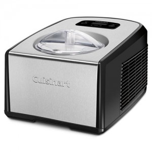 1.5 QT. Gelato and Ice Cream Maker with Compressor System
