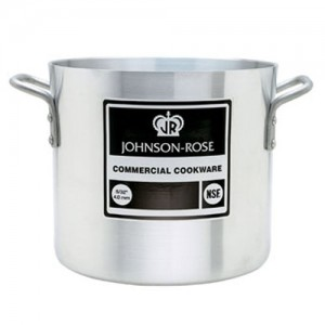 Johnson Rose Aluminum Stock Pot - 6 Gauge / 4MM