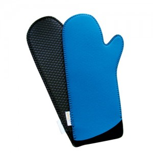 Cool Touch Blue Oven Mitts