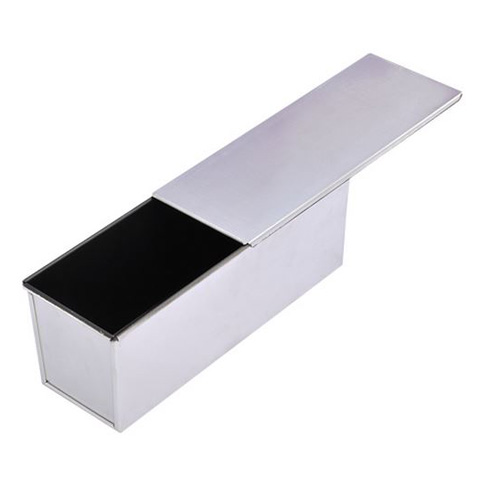 Aluminum Loaf Pan with Slide Off Cover