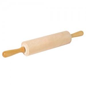 14.5x3.25IN. Wide Barrel Wood Rolling Pin