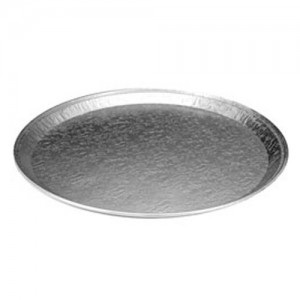 Round Aluminum Serving Tray - 25 PCS