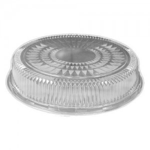 Round Clear Catering Dome Lid - 25 PCS