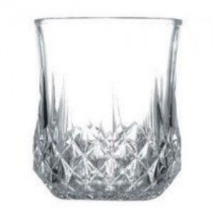 6-Pack 7 oz. Crystal Cut Rock Glass