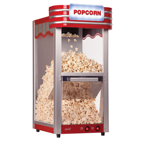 Popcorn Maker with Lighted Marquee