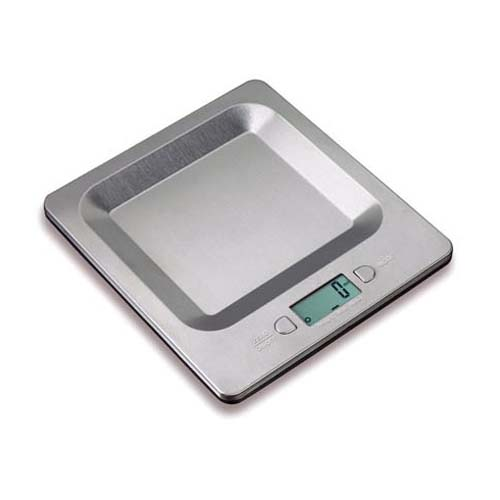 11LB S/S Digital Scale with Recessed Platform