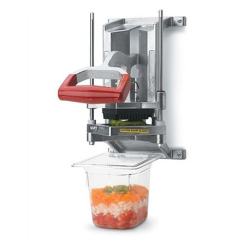 "Instacut 3.5 Wall Mount 1/4"" Cut Dicer, Corer, Wedger"