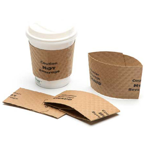 12-20 oz. Coffee Sleeves (Assembly Required)