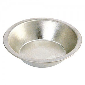 "5"" Tinplated Pie Pan"