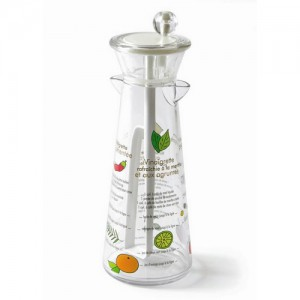 Clear Vinaigrette Dressing Mixer