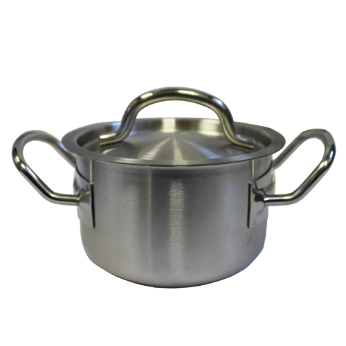 Mini S/S Pot with Cover