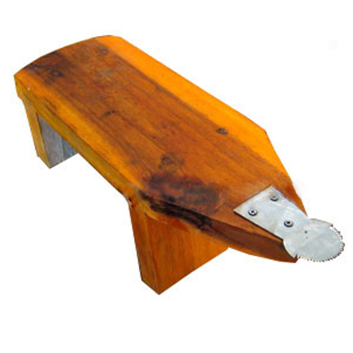 Thai Wood Bench Coconut Grater