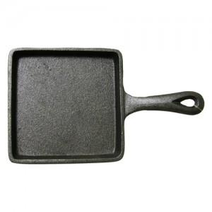 """5"""" Mini Square Cast Iron Fry Pan"""