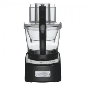 12-Cup / 1000W Black Elite Collection Food Processor