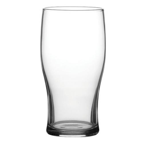 20 oz. Laser Etched Bottom Beer Glass