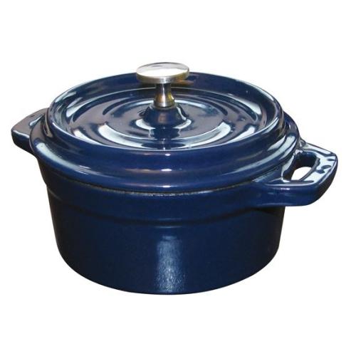 10CM Cast Iron Mini Round Cocotte / Casserole