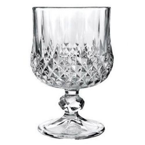 6-Pack Crystal Cut Brandy Glass