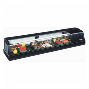 "Hoshizaki 59.1x13.6x11"" Refrigerated Sushi Display Case - Left"