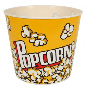 Plastic Popcorn Tub