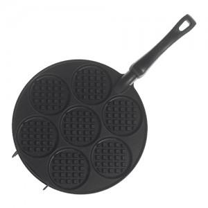 Silver Dollar Mini Waffle Griddle