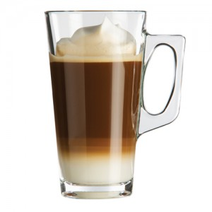 2-Pack 12.5 oz. Glass Coffee Mug