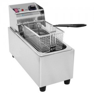 8L Countertop Electric Deep Fryer