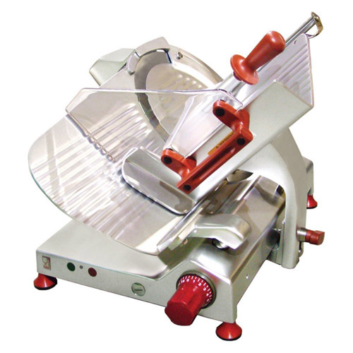 "13""/300mm Gear-Driven Deli Slicer with Fixed Guard"