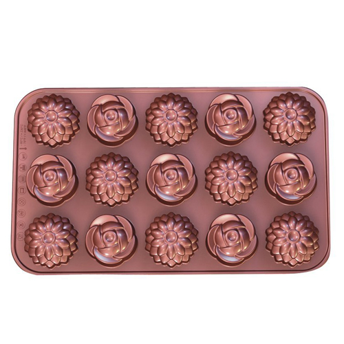 Flowers Silicone Chocolate Mold
